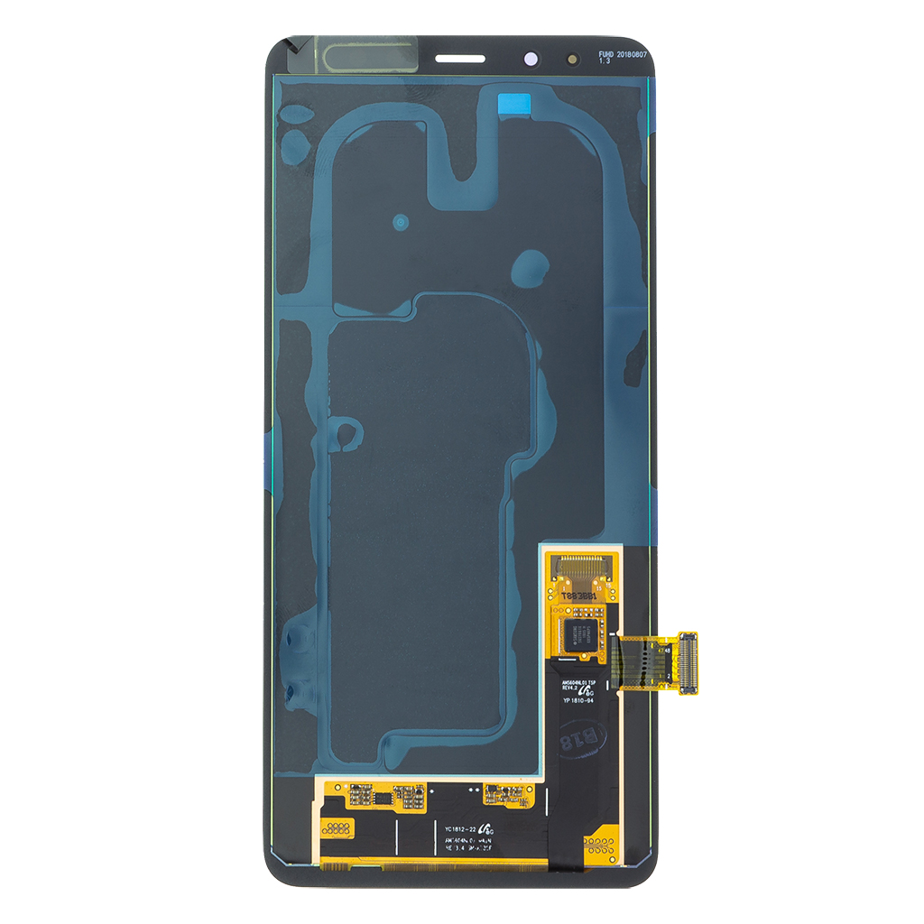LCD display + Dotyk Samsung A730 Galaxy A8 Plus 2018 Black (Service Pack)