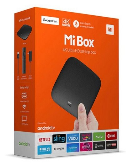 Xiaomi MDZ-16-AB Mi TV Box Black