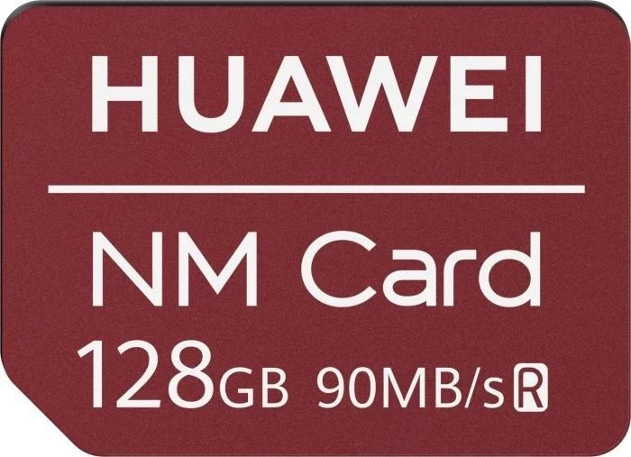 Huawei Original Nano Paměťová Karta Red 128GB (EU Blister)