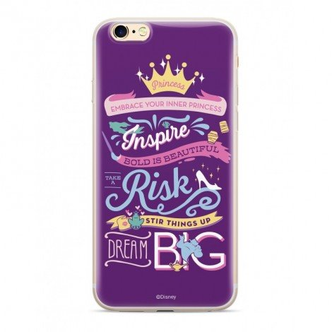 Disney Princess 003 Back Cover Multicolored pro iPhone 5/5S/SE