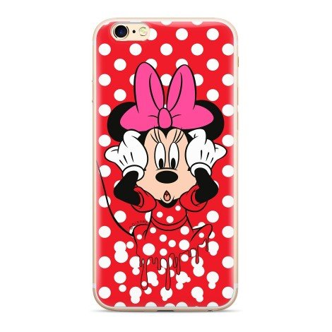 Disney Minnie 016 Back Cover Red pro Huawei P Smart