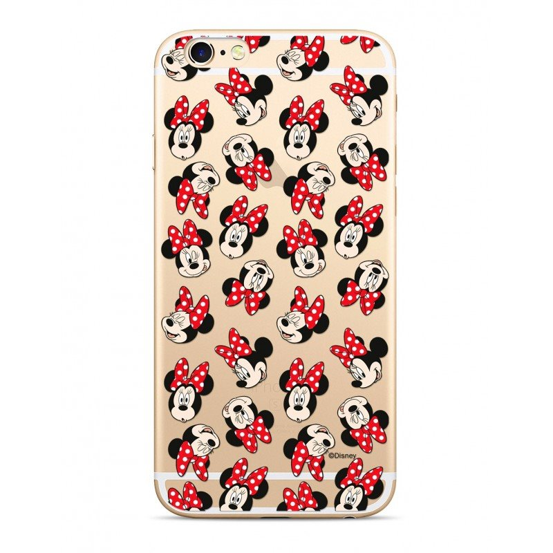Disney Minnie 001 Back Cover Transparent pro Huawei P Smart