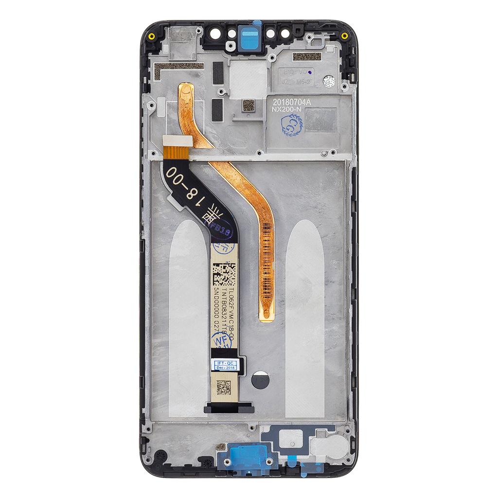 LCD Display + Dotyková Deska + Přední Kryt pro Xiaomi PocoPhone F1 Black
