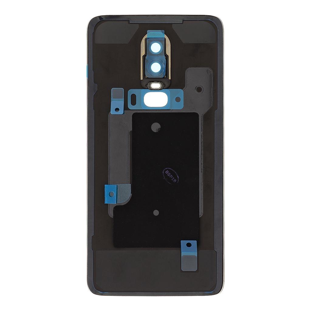 One Plus 6 Kryt Baterie Glossy Black