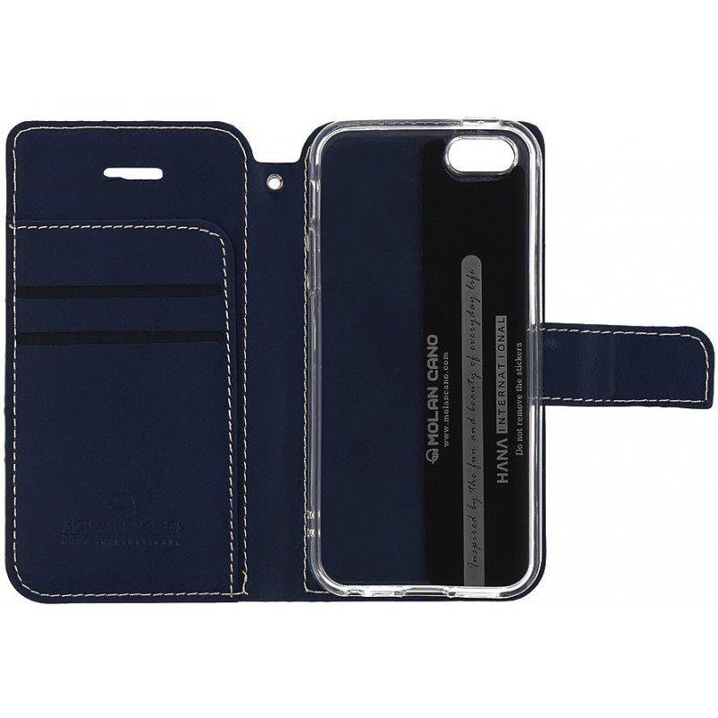 Molan Cano Issue Book Pouzdro pro Samsung Galaxy S10 Plus Navy