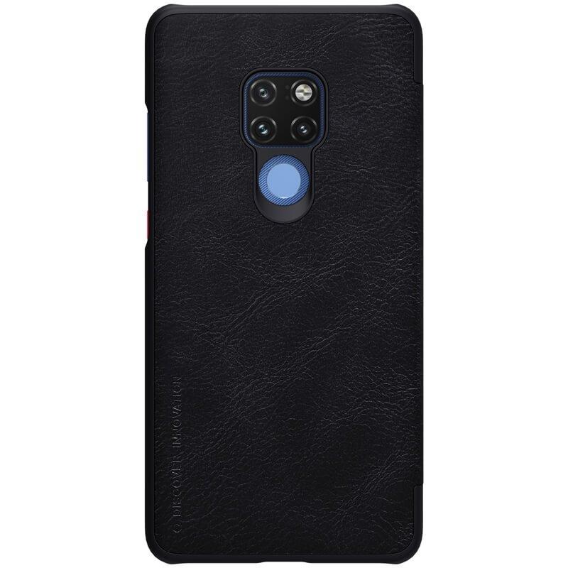 Nillkin Qin S-View Pouzdro Black pro Huawei Mate 20