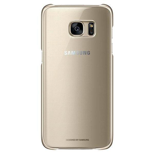 EF-QG930CFE Samsung Zadní Kryt Clear Gold pro G930 Galaxy S7 (Pošk. Blister)