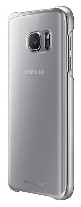 EF-QG930CSE Samsung Zadní Kryt Clear Silver pro G930 Galaxy S7 (Pošk. Blister)