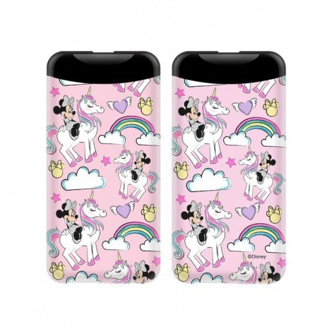 PowerBank 6000mAh Disney Minnie 015 Pink 2.1A