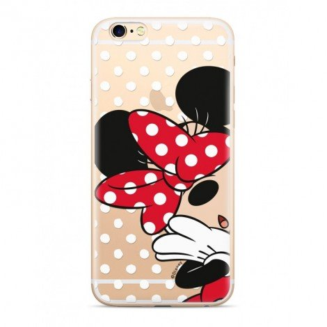 Disney Minnie 003 Back Cover Transparent pro Huawei P Smart