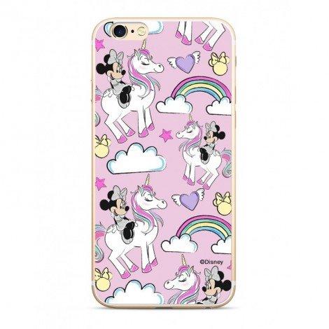 Disney Minnie 037 Glitter Back Cover pro iPhone 5/5S/SE Pink