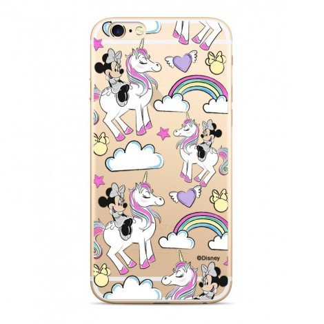 Disney Minnie 037 TPU Back Cover Transparent pro iPhone 5/5S/SE