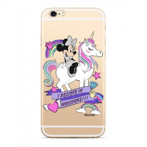 Disney Minnie 035 Back Cover Transparent pro iPhone 5/5S/SE