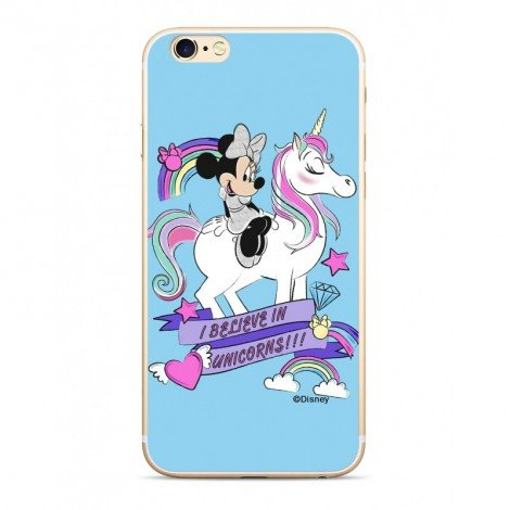 Disney Minnie 035 Back Cover Blue pro iPhone 5/5S/SE