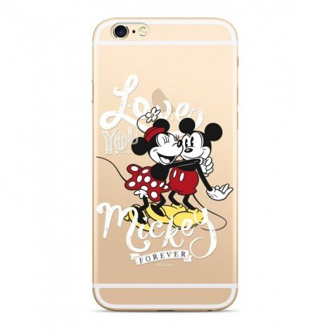 Disney Mickey & Minnie 001 Back Cover Transparent pro Xiaomi Redmi 6/6A