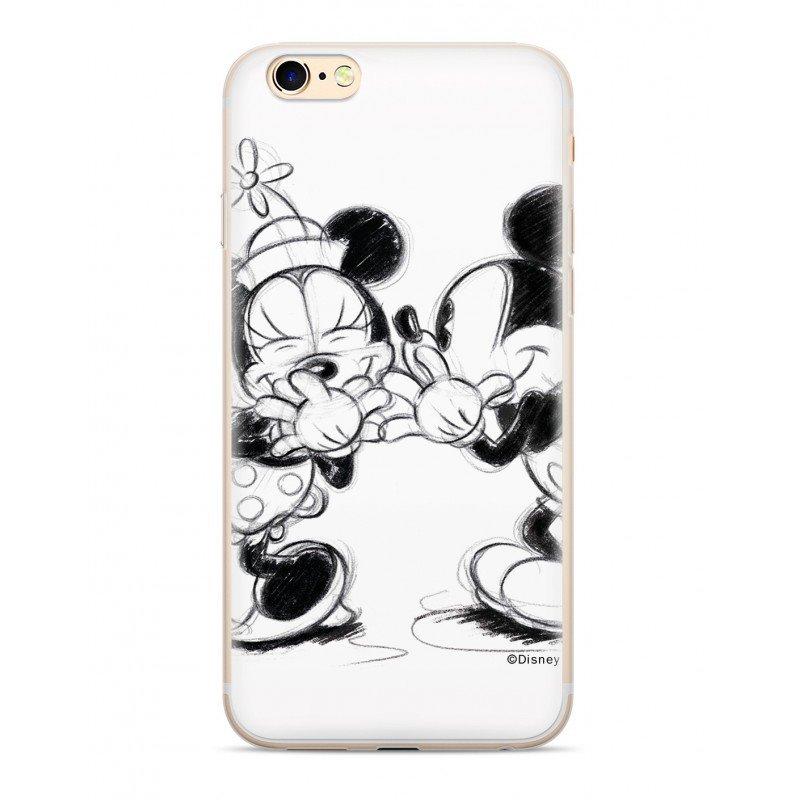 Disney Mickey & Minnie 010 Back Cover pro iPhone 5/5S/SE White