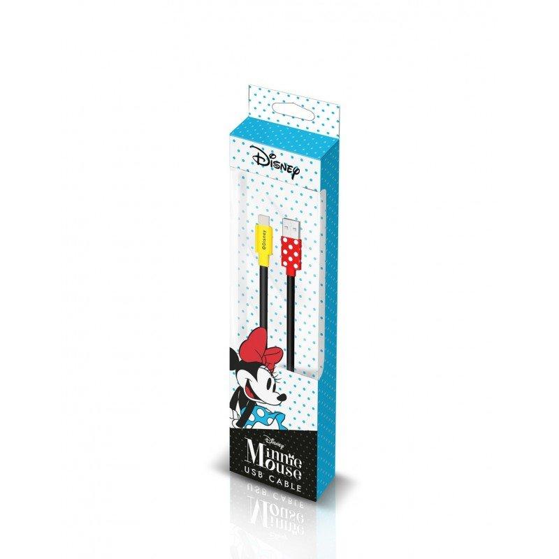 Disney Minnie Lightning Datový Kabel Red (EU Blister)