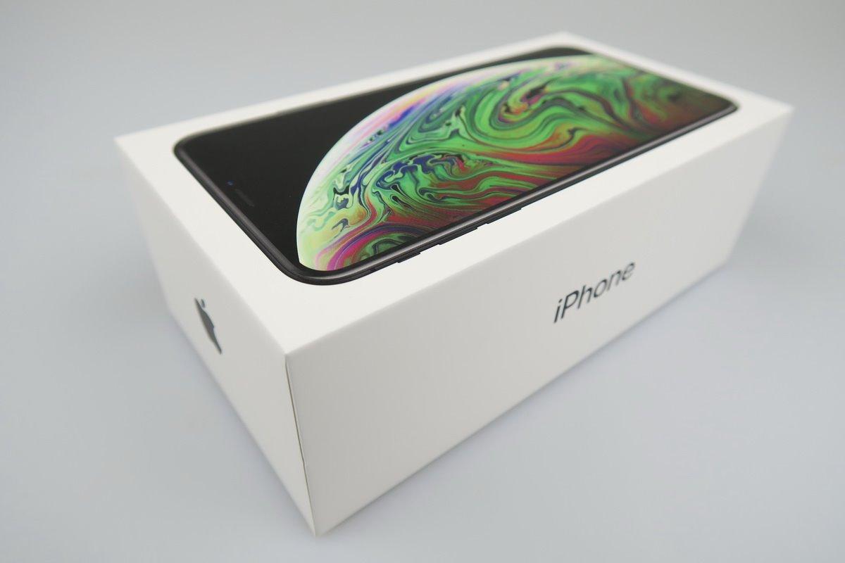 Apple iPhone XS Max Gold Prázdný Box