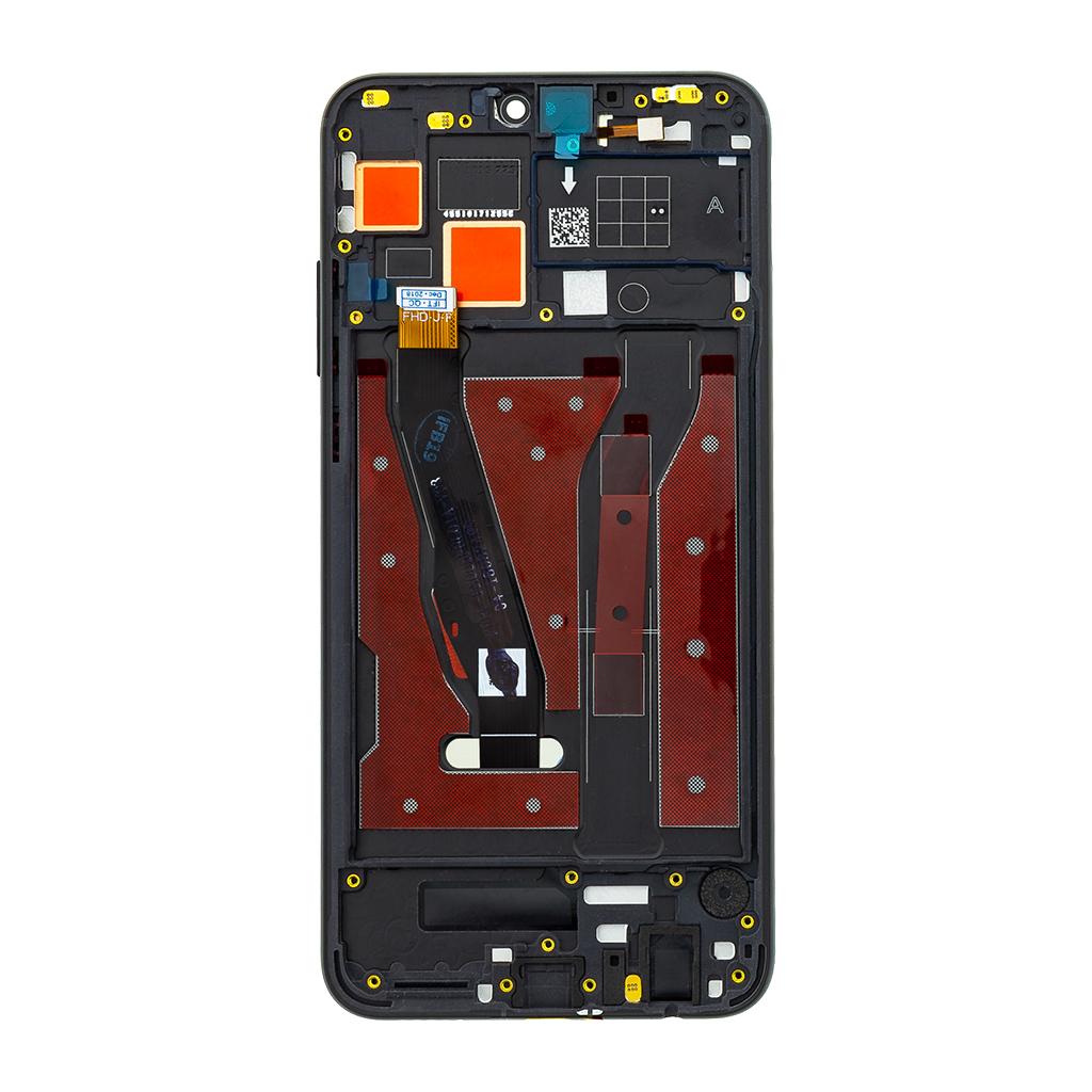 Honor 8X LCD Display + Dotyková Deska + Přední Kryt Black