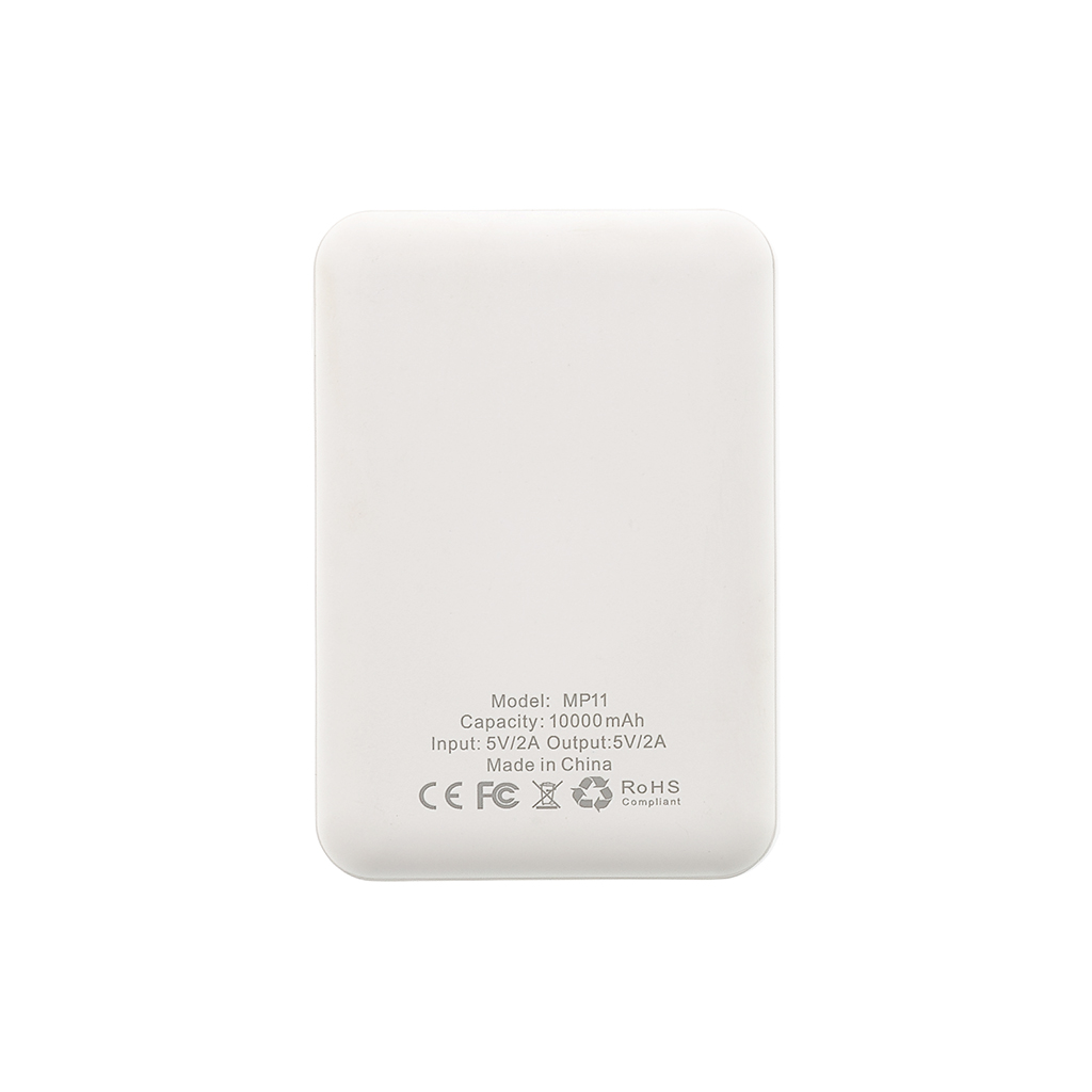 MyMAx MP11 PowerBank 10000mAh vč. LCD Type C/microUSB White (EU Blister)