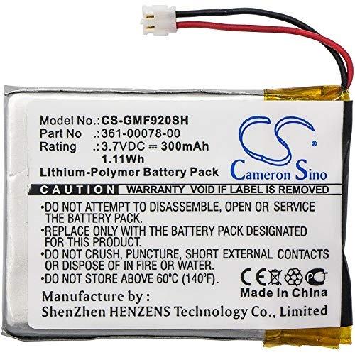 CS-GMF920SH Baterie 300mAh Li-Pol pro Garmin Forerunner 920XT