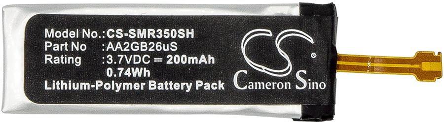 CS-SMR350SH Baterie 200mAh Li-Pol pro Samsung Galaxy Gear Fit R350