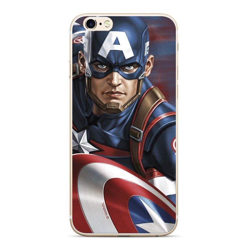 MARVEL Captain America 022 Zadní Kryt Multicolored pro Huawei Y6 2019