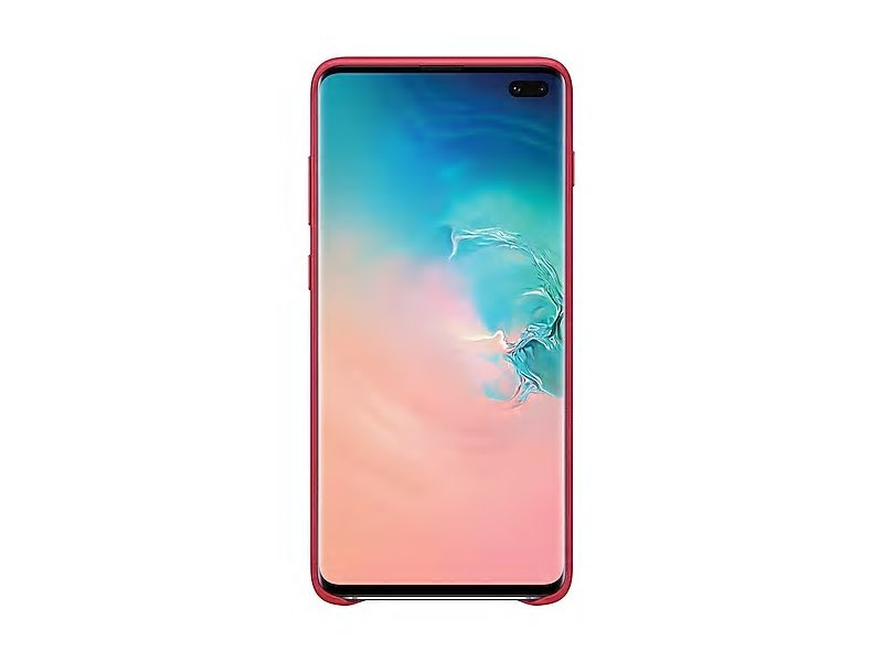 EF-VG975LRE Samsung Leather Cover Red pro G975 Galaxy S10 Plus (EU Blister) 8801643644413
