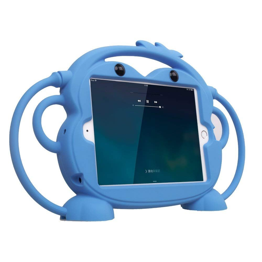 Cartoon Monkey Pouzdro Light Blue pro iPad Air/Pro 2017/2018 9.7