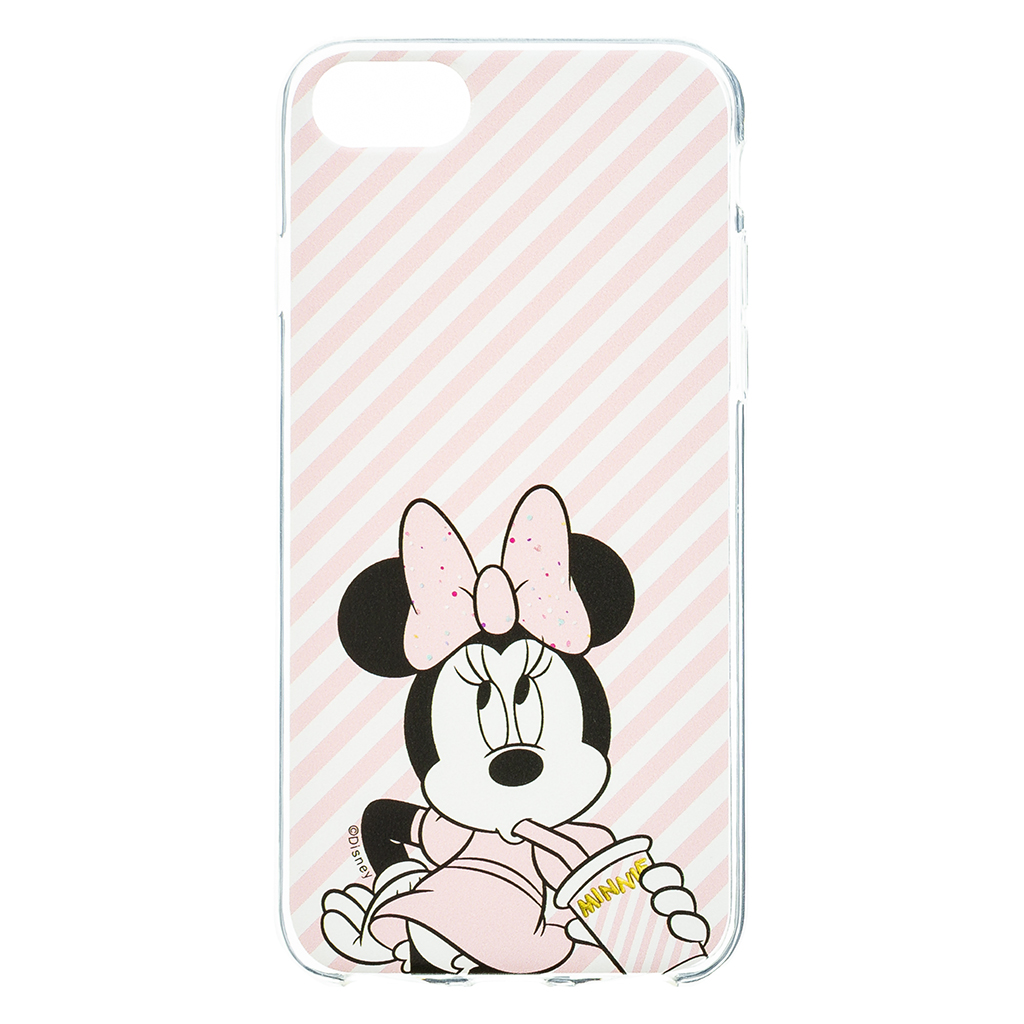 Disney Minnie 017 Back Cover Pink pro iPhone 6/7/8