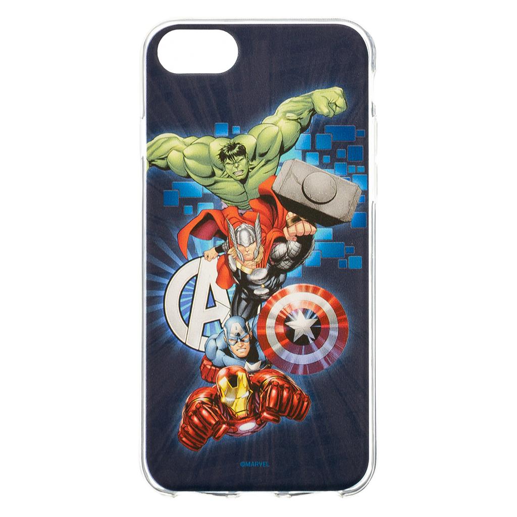 MARVEL Avengers 001 Zadní Kryt pro iPhone 6/7/8 Dark Blue