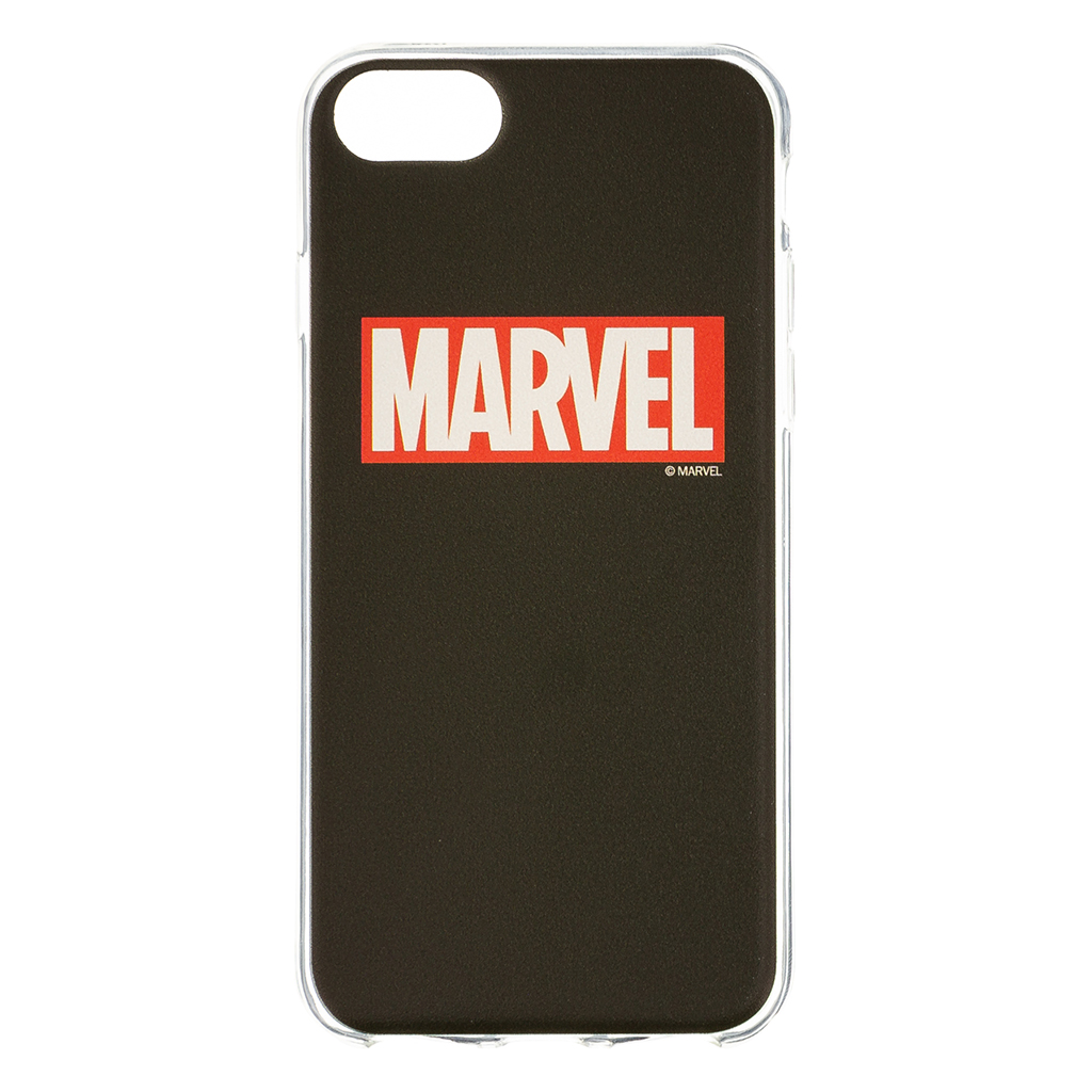 MARVEL 002 Zadní Kryt Black pro iPhone 6/7/8