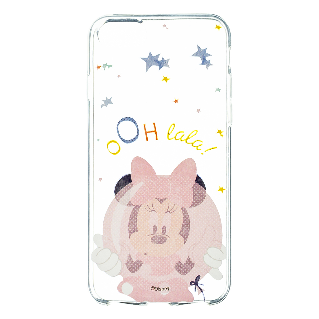 Disney Minnie 046 Back Cover Pink pro iPhone 6/7/8