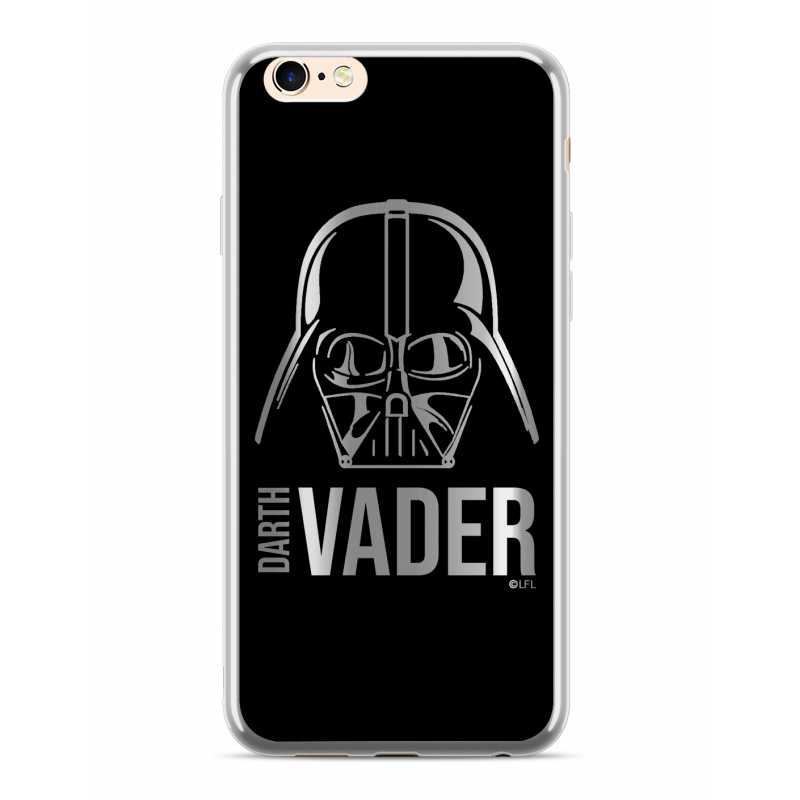 Star Wars Darth Vader Luxury Chrome 010 Kryt pro iPhone 6/7/8 Silver