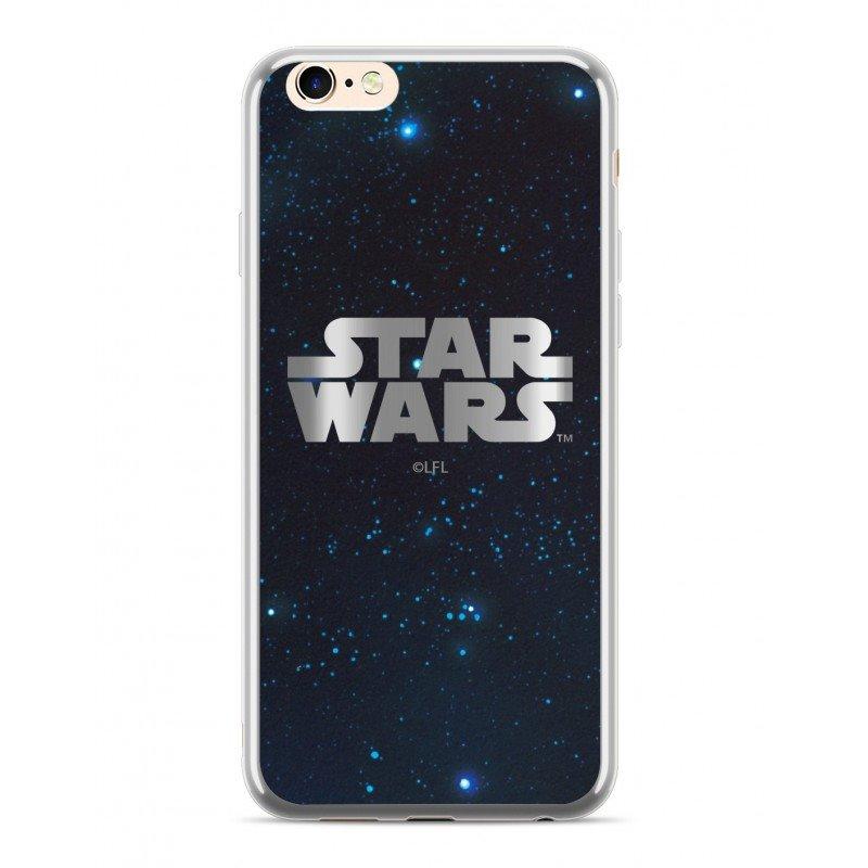 Star Wars Luxury Chrome 003 Kryt pro iPhone 5/5S/SE Silver