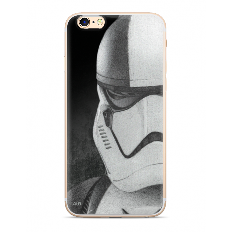 Star Wars Stormtrooper 001 Kryt pro iPhone 6/7/8 Plus Black