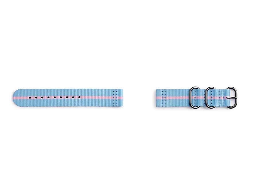 GP-R600BREECAF Samsung Gear Sport Studio Premium Nato Strap Blue/Pink