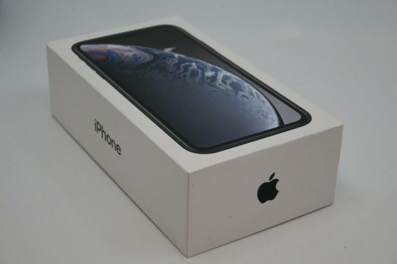 Apple iPhone XR Prázdný Box Black