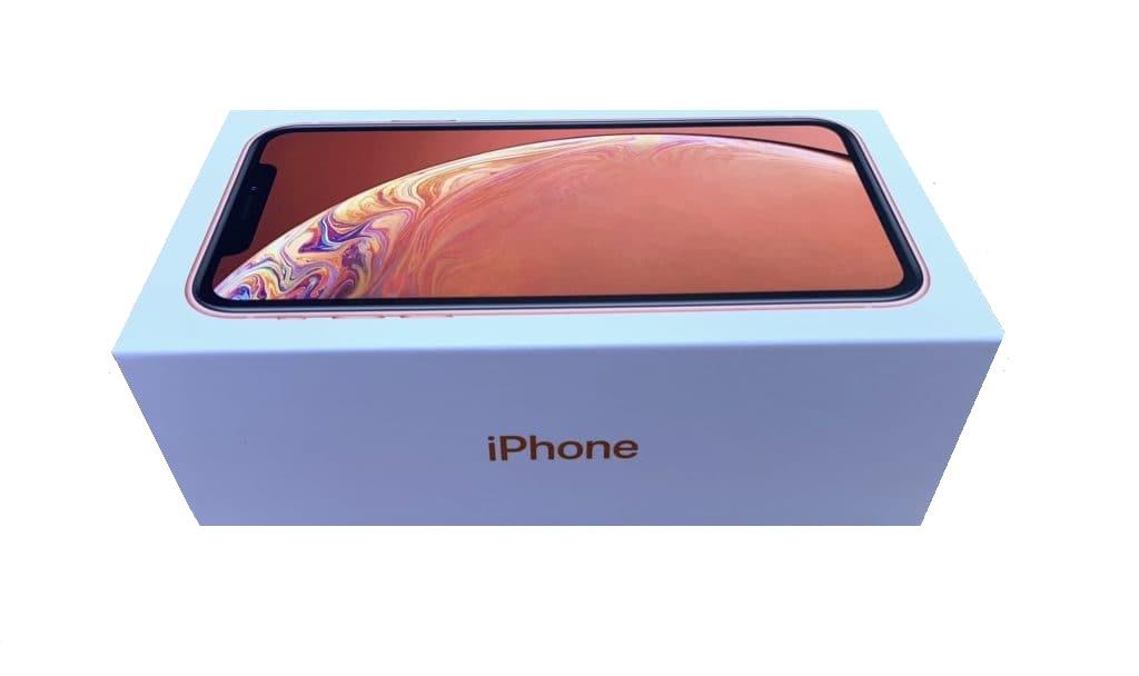 Apple iPhone XR Prázdný Box Coral