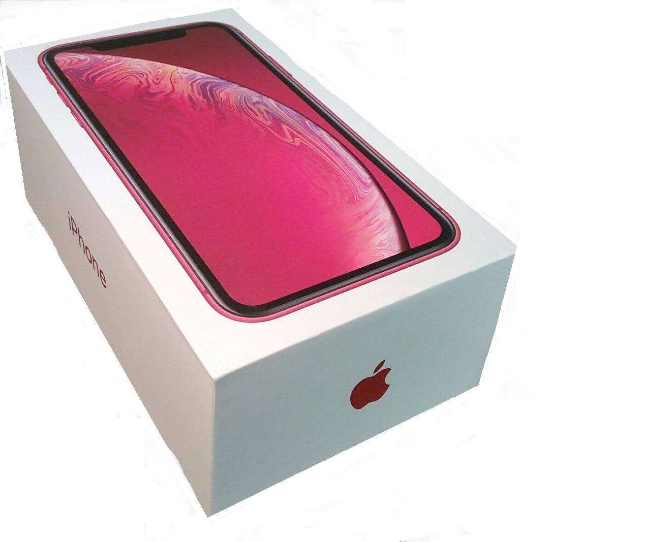 Apple iPhone XR Prázdný Box Red