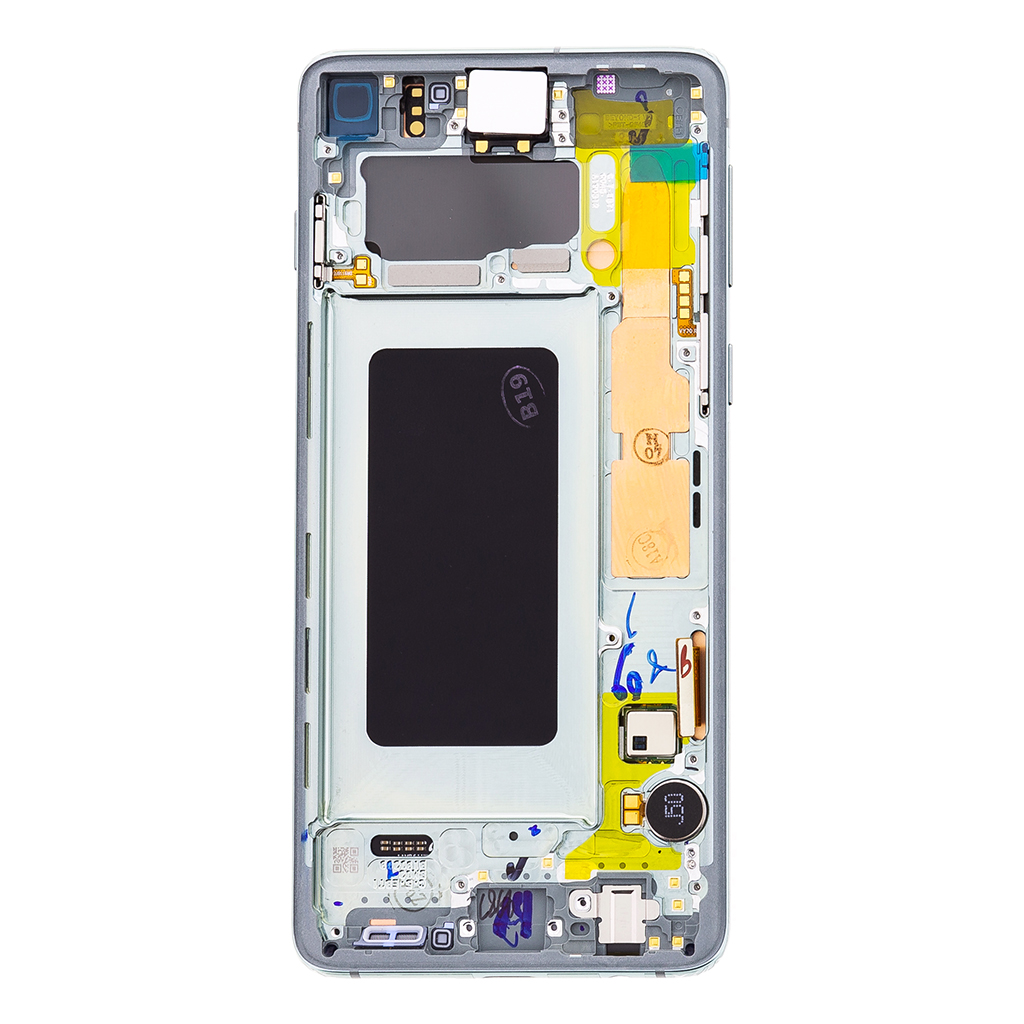 LCD display + Dotyk Samsung G973 Galaxy S10 Green (Service Pack)