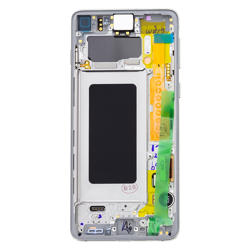 LCD display + Dotyk Samsung G973 Galaxy S10 White (Service Pack)
