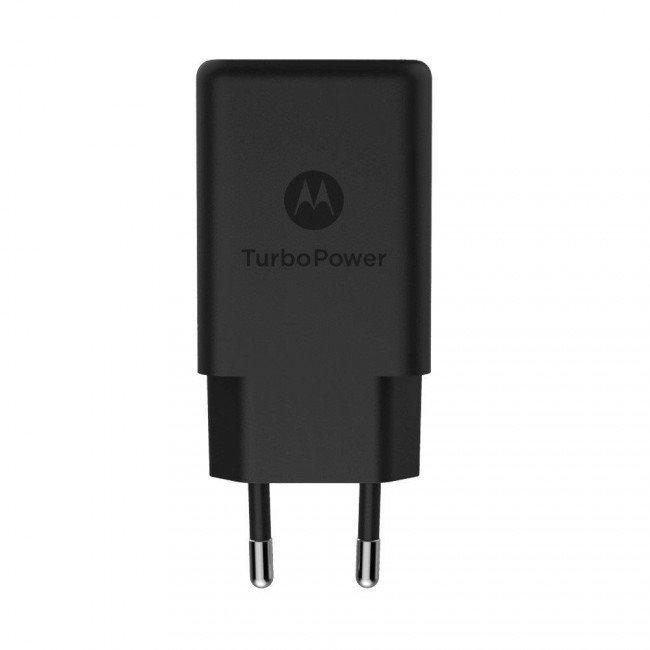 SPN5976A Motorola QC 3.0 USB Cestovní nabíječka Black (Bulk)