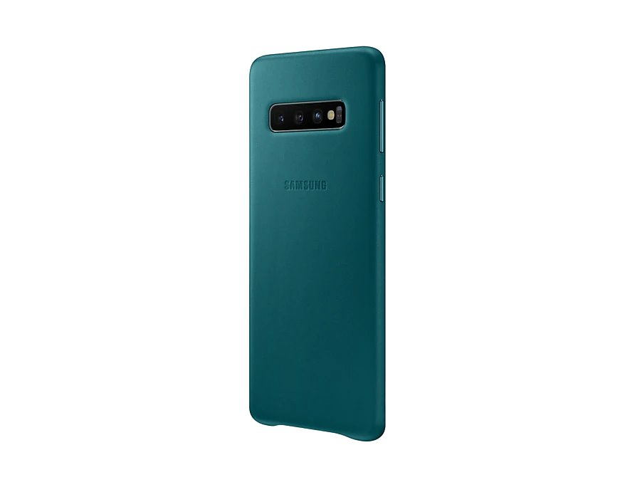 EF-VG973LGE Samsung Leather Cover Green pro G973 Galaxy S10 8801643644550