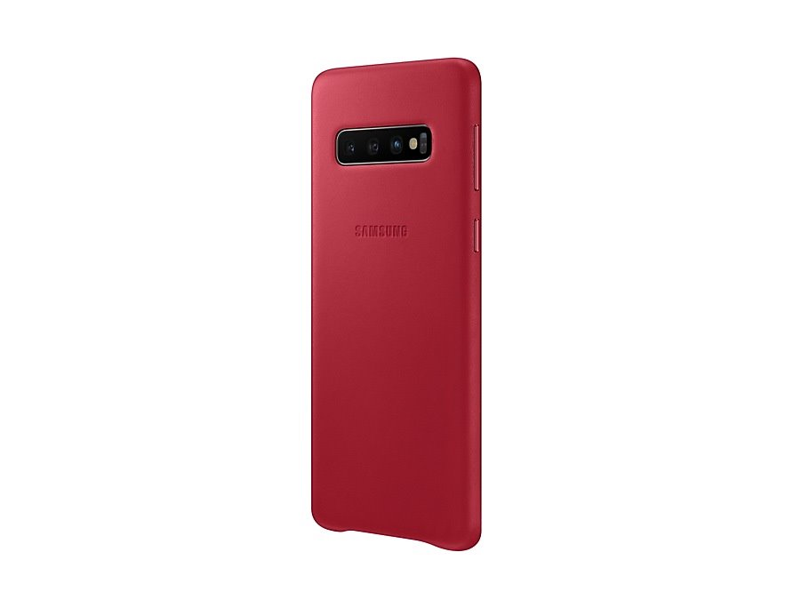 EF-VG973LRE Samsung Leather Cover Red pro G973 Galaxy S10 8801643644512