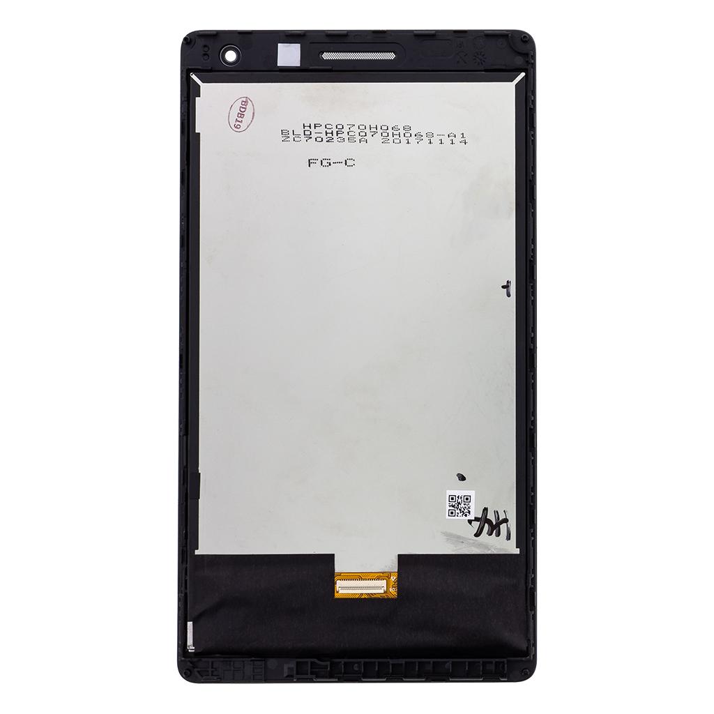 Huawei Mediapad T3 7 3G - BG2-W09 LCD Display + Dotyková Deska + Přední Kryt Black (Service Pack)