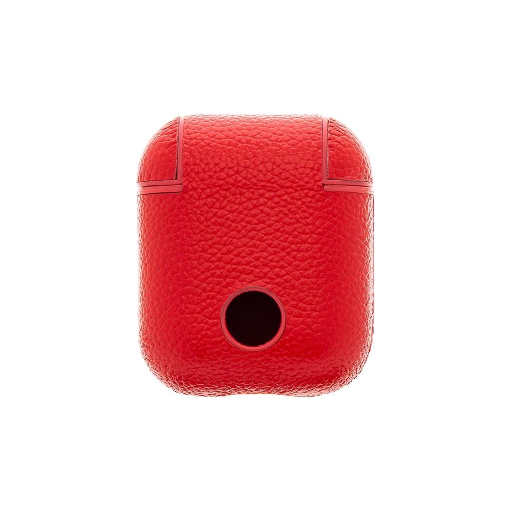 Handodo Kožené Pouzdro pro Apple Airpods Red (EU Blister)