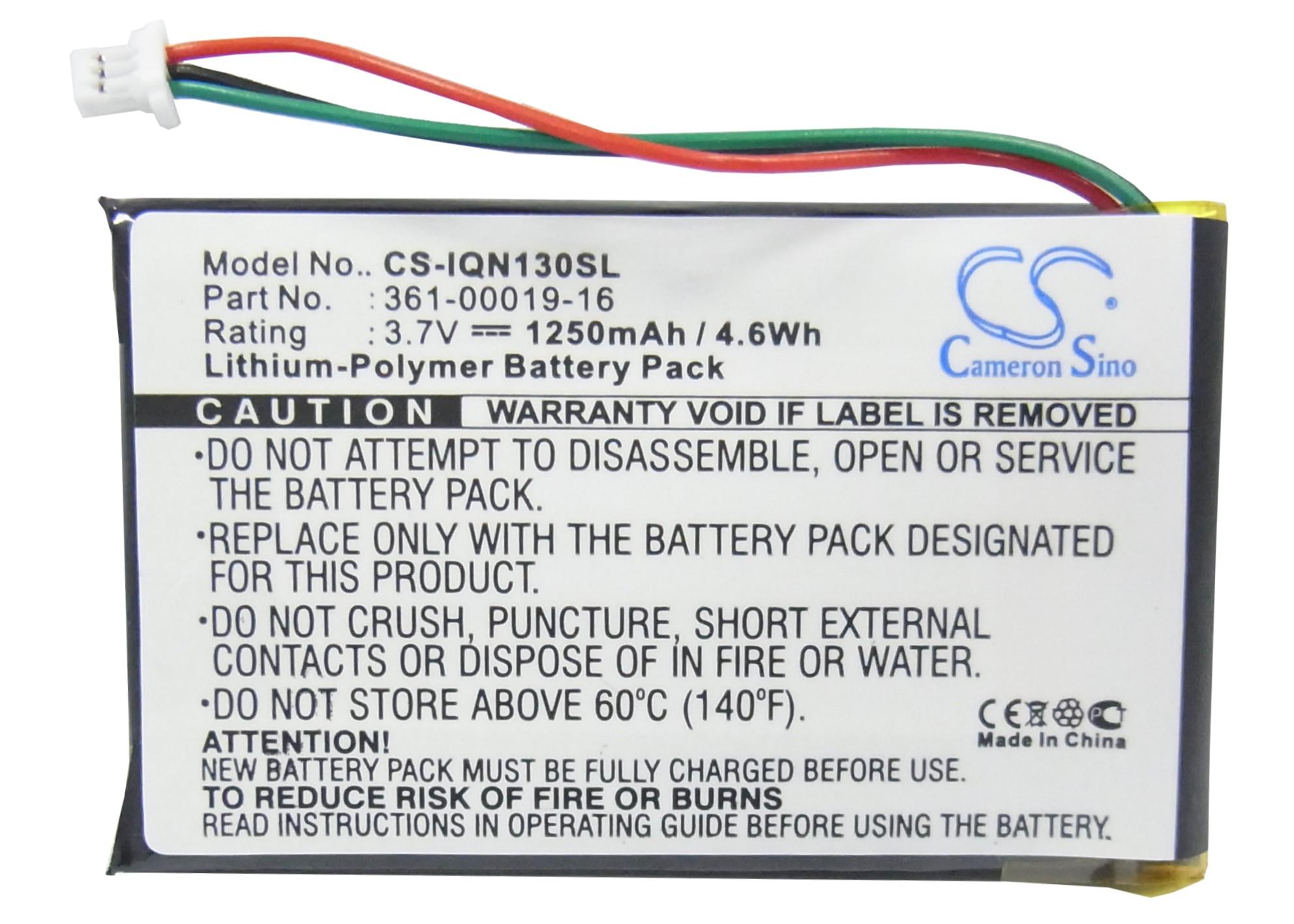 CS-IQN130SL Baterie 1250mAh Li-pol pro Garmin Nuvi 13xx