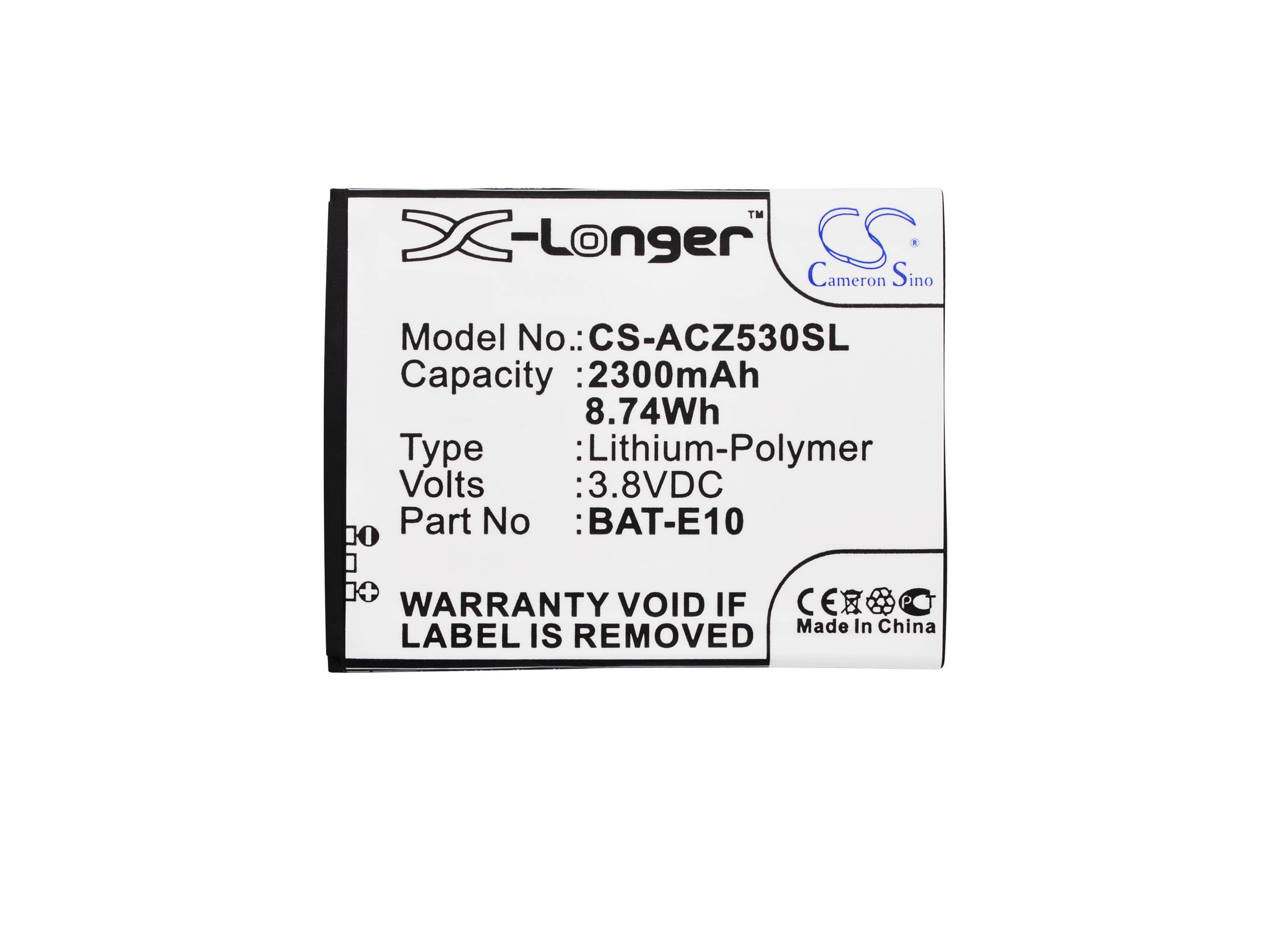 CS-ACZ530SL Baterie 2300mAh Li-pol pro Acer Liquid Z530