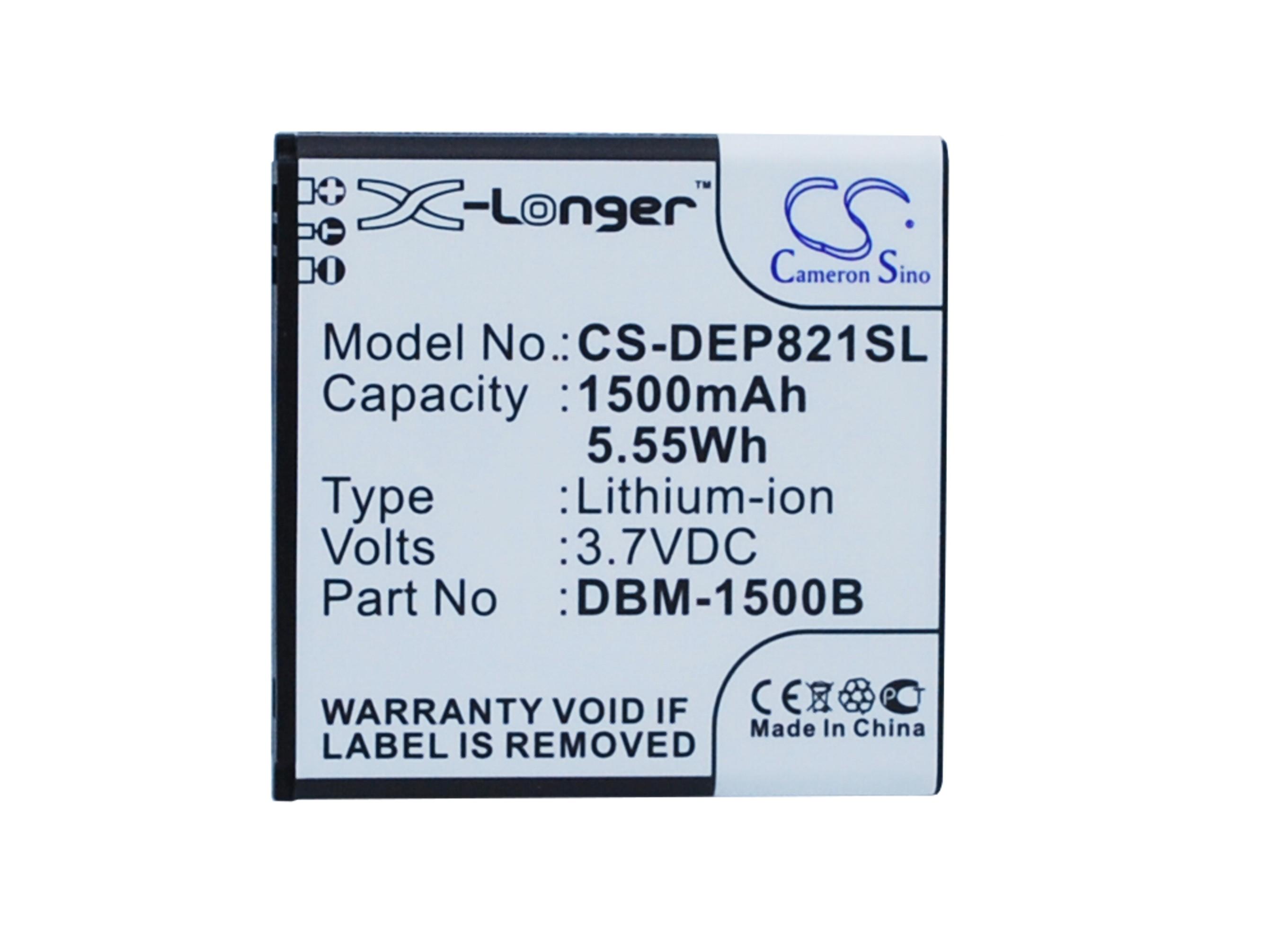 CS-DEP821SL Baterie 1500mAh Li-ion pro Doro Liberto 820 mini